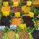 Different kinds of olives for sale  - PhotoDune Item for Sale