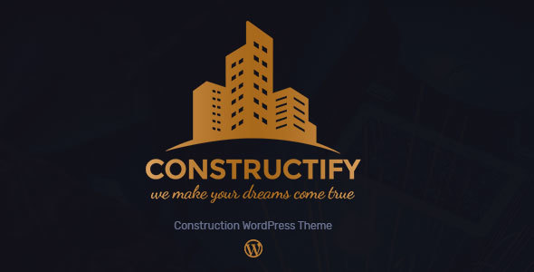 Constructify - Construction Building WordPress Theme - Business Corporate