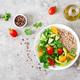 Diet menu. Healthy vegetarian salad of fresh vegetables  - PhotoDune Item for Sale