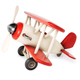 Wooden airplane isolated on white background. 3d rendering illustration. - PhotoDune Item for Sale