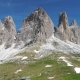 Aerial View of Dolomites Mountains in Italy - VideoHive Item for Sale