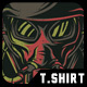 Gas Mask T-Shirt Design - GraphicRiver Item for Sale