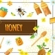 Cartoon Organic Honey Concept - GraphicRiver Item for Sale