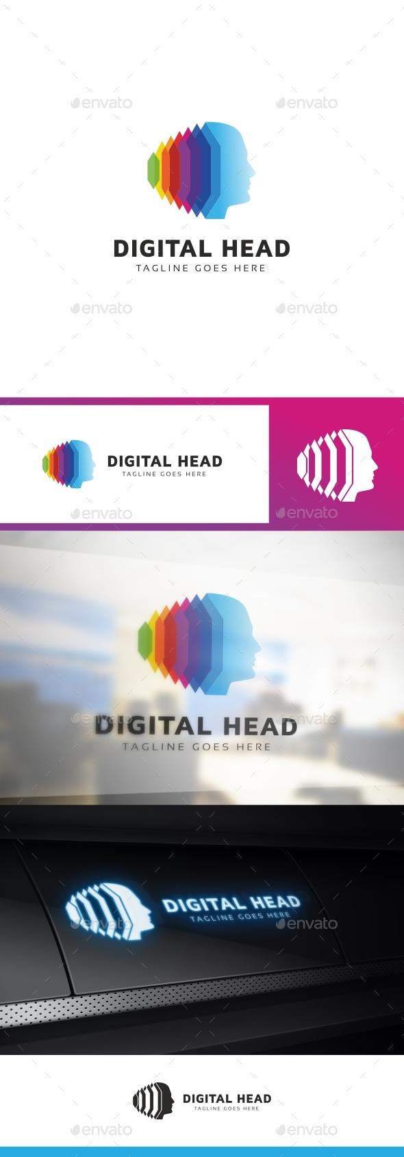 Human Virtual Technology Logo - Humans Logo Templates