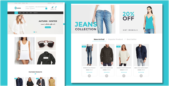 Ecomin - Responsive Ecommerce HTML5 Template - Shopping Retail