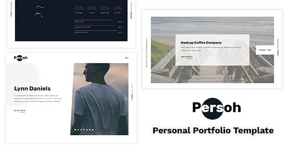 Image of Persoh - Personal Portfolio Template