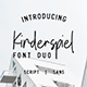 Kinderspiel - Font Duo - GraphicRiver Item for Sale