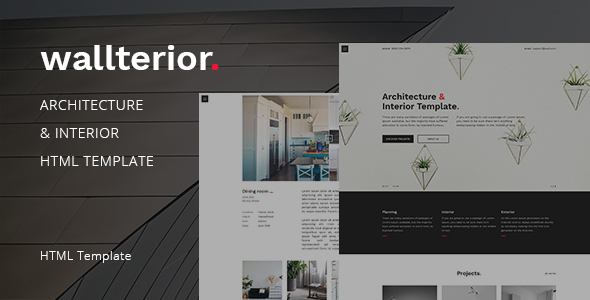 Image of Wallterior – Architecture & Interior Template