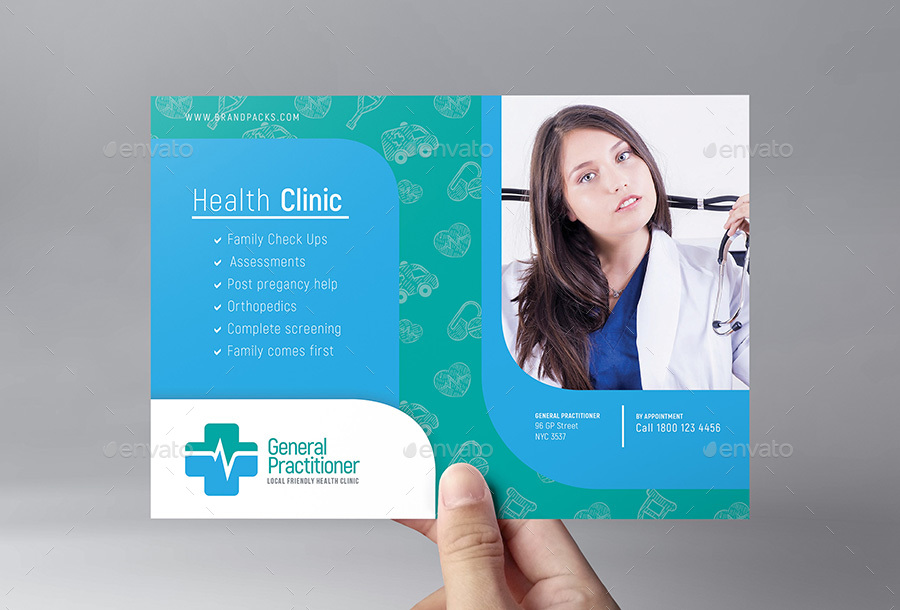 Medical Flyer Template By Brandpacks Graphicriver