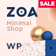 Zoa - Minimalist Elementor WooCommerce Theme - ThemeForest Item for Sale