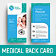 Medical DL Rack Card Template - GraphicRiver Item for Sale