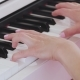 Woman Hands Playing the Piano - VideoHive Item for Sale