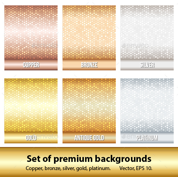 Set of 6 Premium Backgrounds - Backgrounds Decorative