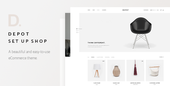 Depot - A Contemporary Theme for eCommerce - WooCommerce eCommerce