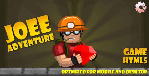 Joee Adventure (CAPX & HTML + C3) Game!            Nulled