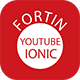 Fortin Multiple Channels Youtube App Ionic - CodeCanyon Item for Sale