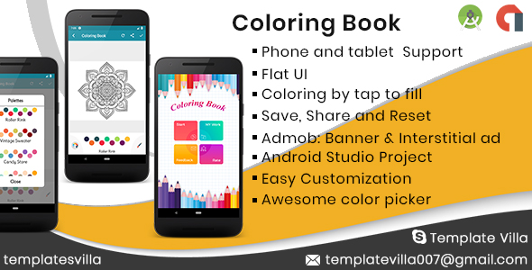 Coloring Book For Mandala            Nulled