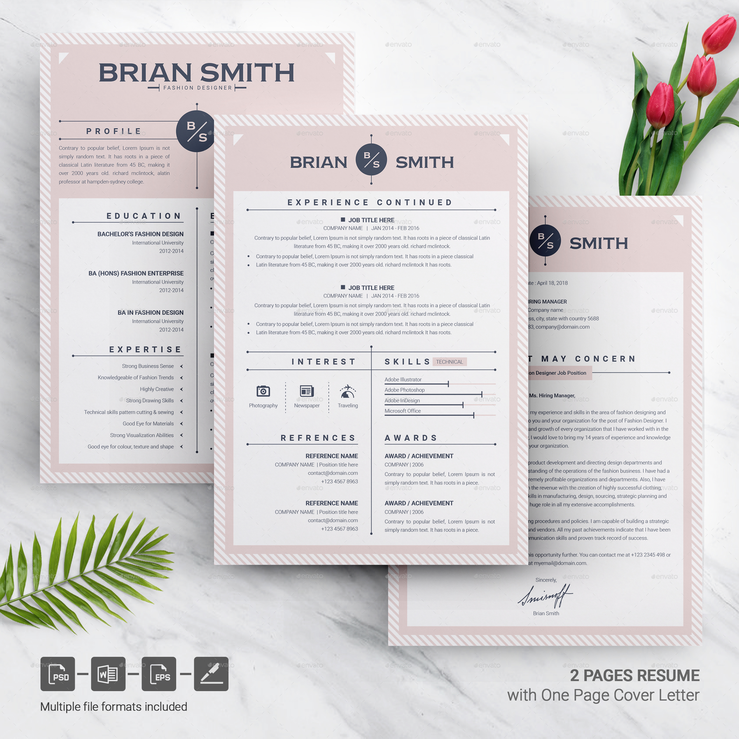 Resume Template | Modern & Creative Professional Resume Template for Word