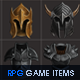 RPG Game Icons Set