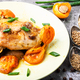 Chicken stewed in apricots - PhotoDune Item for Sale