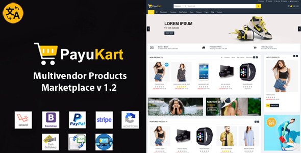 PayuKart Multivendor Products Marketplace            Nulled