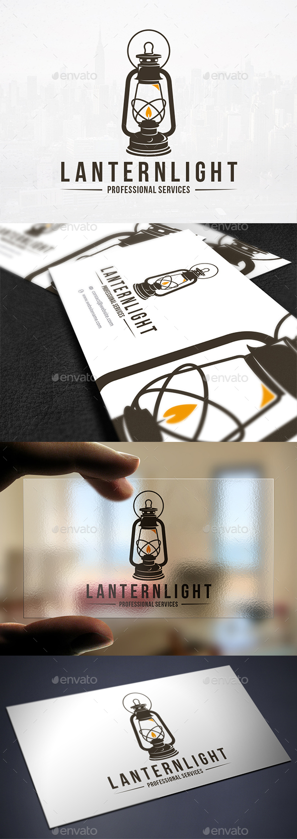 Lantern Light Logo Template - Objects Logo Templates