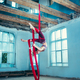 Graceful gymnast performing aerial exercise - PhotoDune Item for Sale
