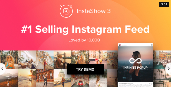 Instagram Feed - WordPress Instagram Gallery - CodeCanyon Item for Sale