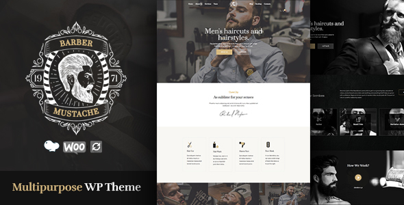 CutStyle - Barber & Barber Shop WordPress Theme - Health & Beauty Retail