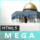 MeGa - Creative Portfolio Template - ThemeForest Item for Sale