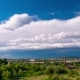 Cloud Movement Over the City - VideoHive Item for Sale