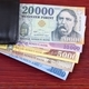 Hungarian money in the black wallet  - PhotoDune Item for Sale