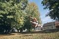 Boy practicing free runnuing - PhotoDune Item for Sale