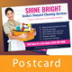 Cleaning Service Postcard - GraphicRiver Item for Sale