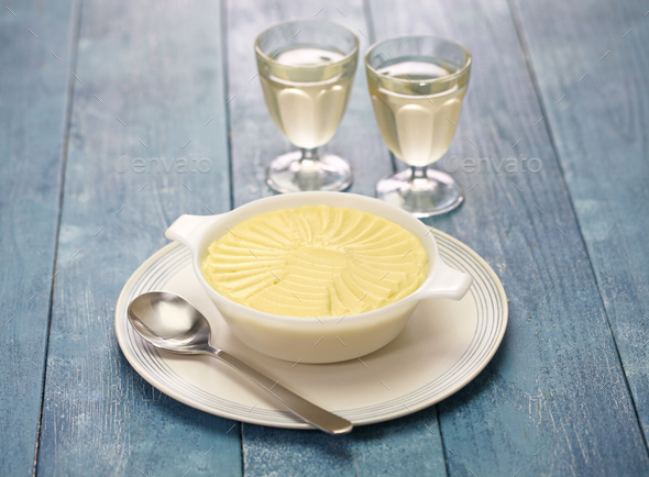 french creamy potato puree - Stock Photo - Images