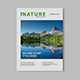 Nature Magazine - GraphicRiver Item for Sale