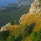 Flight Over the Rock Peak of the Crimean Mountain - VideoHive Item for Sale