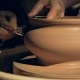 A Craftsman Shaping a Vase with a Fork - VideoHive Item for Sale