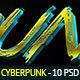 Cyberpunk Text Effects - 10 PSD - GraphicRiver Item for Sale
