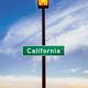 Retro California Sign In The Desert - PhotoDune Item for Sale