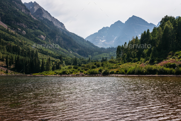 Maroon Bells IV - Stock Photo - Images