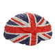 England. Flag on Human brain. 3D illustration. - PhotoDune Item for Sale