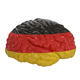 Germany. Flag on Human brain. 3D illustration. - PhotoDune Item for Sale