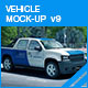 Vehicle Mock-up v9 - GraphicRiver Item for Sale