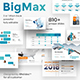 3 in 1 BigMax Pitch Deck Powerpoint Bundle Template