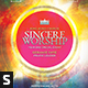 Sincere Worship Church Flyer - GraphicRiver Item for Sale