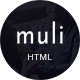 Muli - Creative MultiPurpose Template - ThemeForest Item for Sale