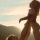 of Handsome Father Throwing His Adorable Daughter in the Air - VideoHive Item for Sale