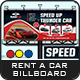 Rent a Car Billboard Templates