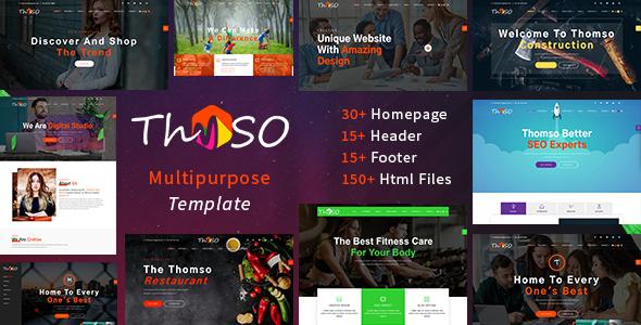 Image of Thomso - Multipurpose HTML5 Template